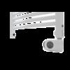 Deltacalor Recto C Mix 1000 Watt központi fűtési rendszerre köthető elektromos törölközőszárítós radiátor (fehér)
