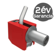 BURNIT Pell 30 kW pellet égőfej emelt levegő nyomású tisztítással - pellet tartály nélkül