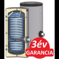 SUNSYSTEM SWP 2N 500 indirekt használati meleg víz tartály hőszivattyúhoz (500 liter) - 2 hőcserélővel