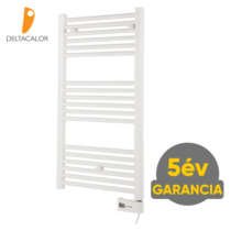 Deltacalor Electro 500 Watt elektromos törölközőszárítós radiátor (fehér)