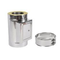 KOMINUS KD 160/220 mm, szigetelt padlástéri tisztító, csatlakozó bilinccsel