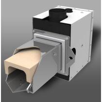 KOSTRZEWA Platinum Bio 24 kW pellet égőfej pellet tartállyal - napraforgó maghéj pellet égetéséhez is