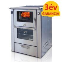 SENKO SG-60 (7,5 kW) vegyestüzelésű sparherd kazán beépített sütővel