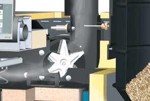 Fordulatszám szabályzott ventilátor és lambda kontroll