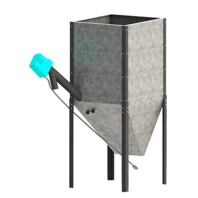 CPSP-H pellet tároló tartály
