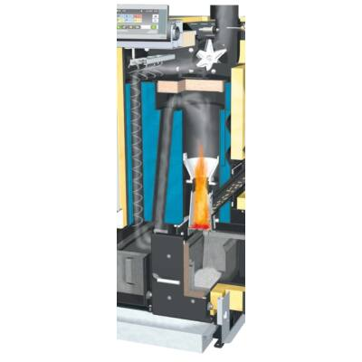 Többrétegű hőcserélő 3-passzív kialakítással