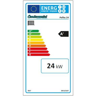 PelTec 24 kW energia cimke