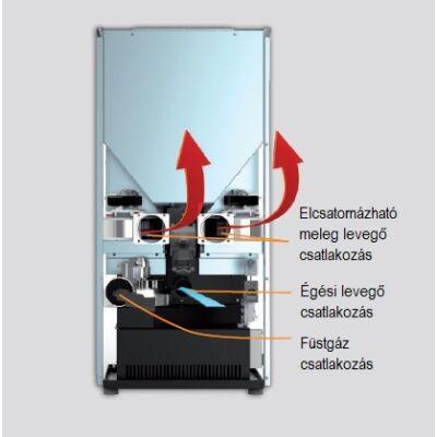CentroPelet Z16C függőleges hőcserélőkkel