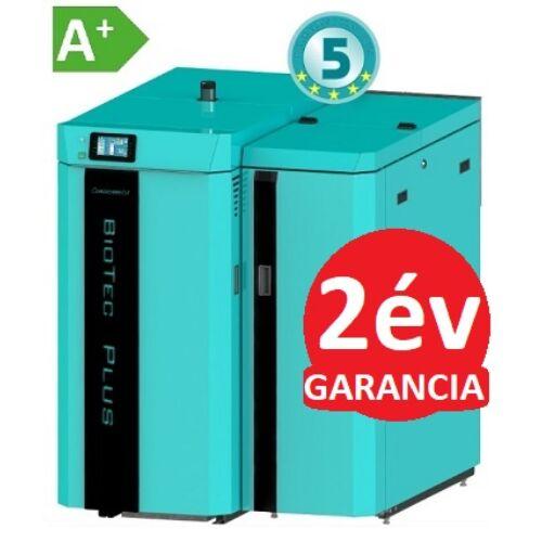 Centrometal BIO-TEC Plus 25 kW faelgázosító és pellet kazán