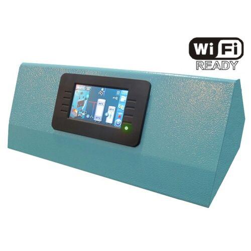Centrometal CPREG-Touch érintőképernyős vezérlő panel - Az alapfelszereltségű nyomógombos CPREG vezérlés helyett