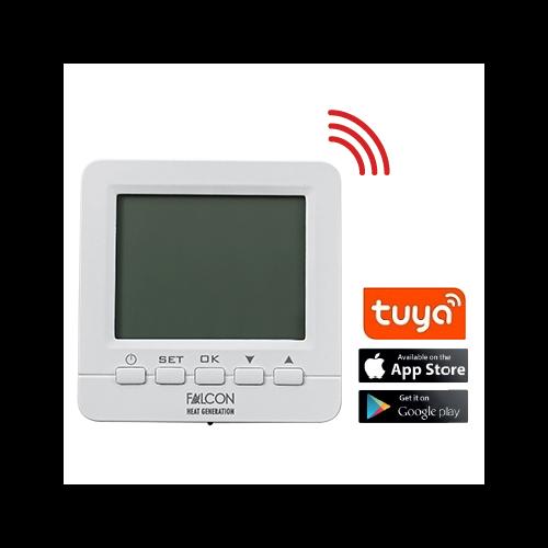FALCON WIFI Control programozható digitális szobatermosztát központi fűtéshez és hűtéshez (3A)