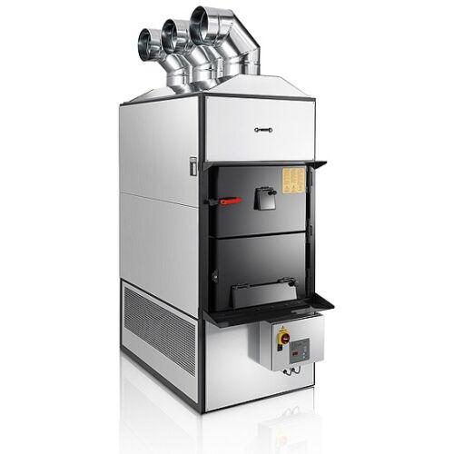 FABBRI F120 vegyes tüzelésű meleg levegős kazán (139,2 kW)