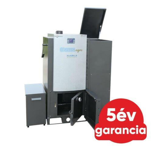 OZON Agro 35 kW automata üzemű agripellet kazán magas hamutartalmú pelletekhez is (Wi-Fi)