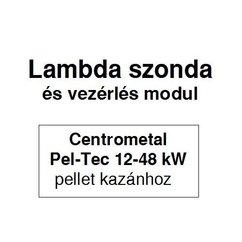 Lambda szonda és vezérlő modul (Pel-Tec pellet kazánhoz)