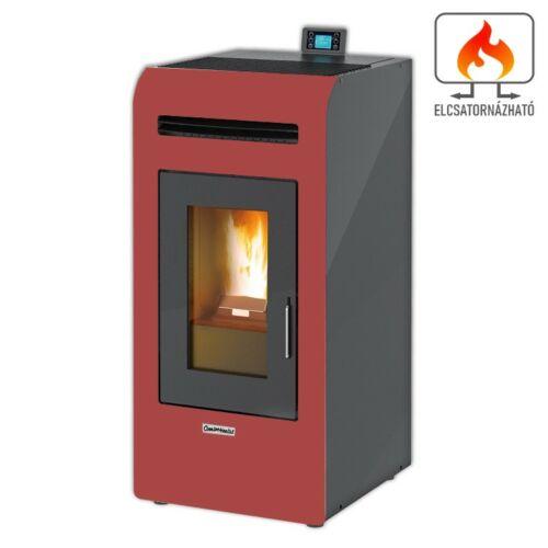 Centrometal CentroPelet Z16C elcsatornázható meleglevegős pelletkályha (bordó)