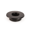 Rozsdamentes szűkítő és rozetta (fekete)