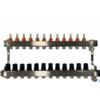 TermoJET 12 körös rozsdamentes osztó-gyűjtő áramlásmérővel