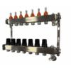TermoJET 7 körös rozsdamentes osztó-gyűjtő áramlásmérővel