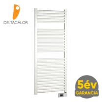 Deltacalor Electro 750 Watt elektromos törölközőszárítós radiátor (fehér - 500 mm)