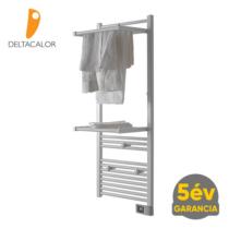 Deltacalor DINAMIC Plus 500 Watt elektromos törölközőszárítós radiátor - nyitható radiátor taggal (fehér)