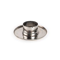 Takaró rozetta tömítőgyűrűvel - fémszínű (80 mm)