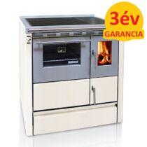 SENKO SG-75 (7,5 kW) vegyestüzelésű sparherd kazán beépített sütővel (krém színű)