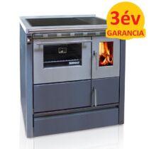 SENKO SG-75 (7,5 kW) vegyestüzelésű sparherd kazán beépített sütővel (szürke színű)