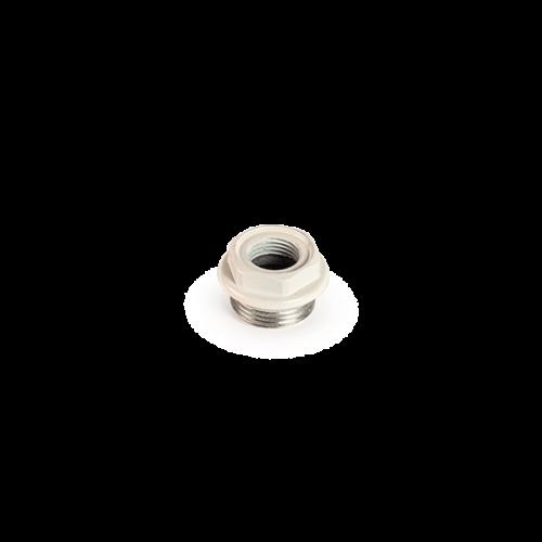 "LIPOVICA radiátor szűkítő idom balos kialakítású 1"" / ½"" (fehér)"